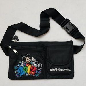 Walt Disney World Authentic Fanny Pack Black 2012
